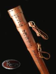 Leder-Schwertscheide für Spatha