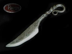 Schmiedeeisernes Messer, Schaumstoff, realistisch