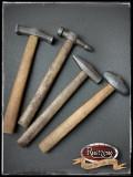 Werkzeughammer Typ 1-4 inkl. Stiele (Prop aus PU-Weichschaum)